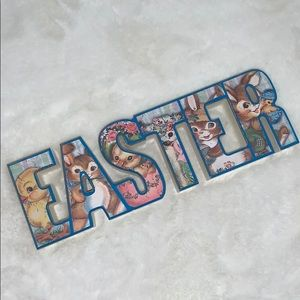 Rustic Retro style EASTER wood sign